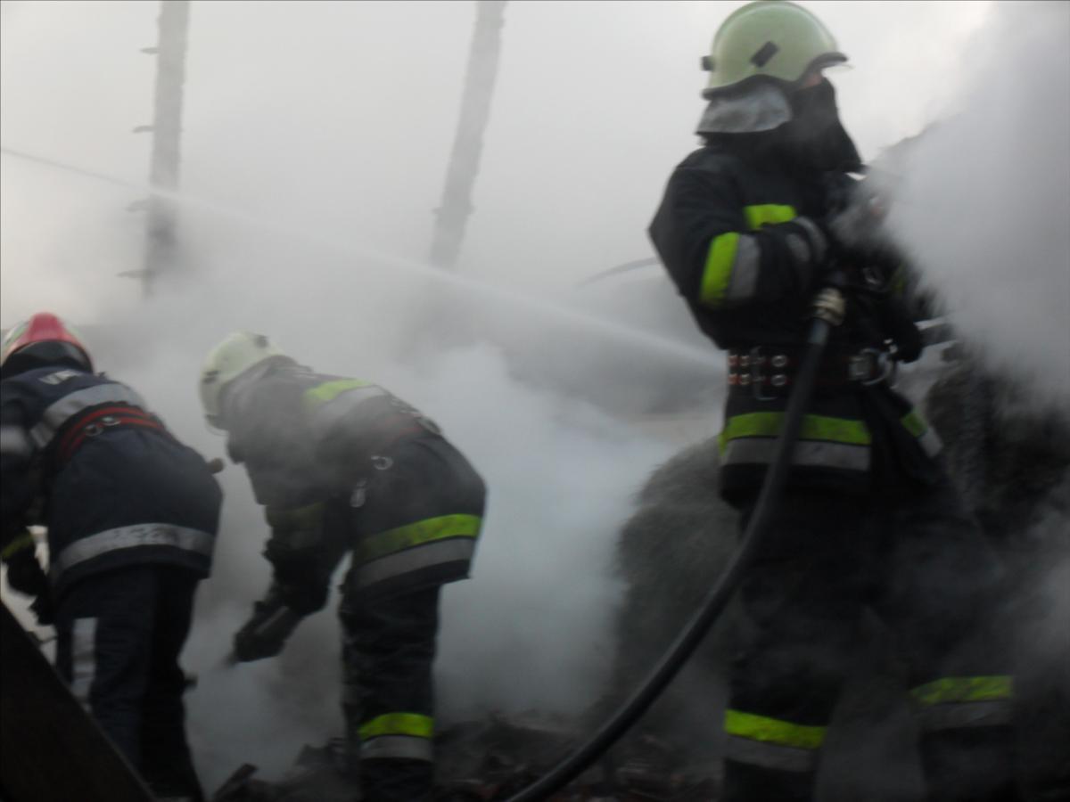 Požar gospodarskog objekta